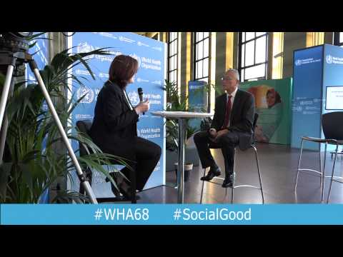WHO: World Health +SocialGood 22 May 2015 (full webcast)
