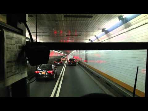 7 Minute a cross Holland Tunnel From New York City to Jersey City