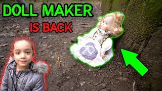 Gambar cover WHO IS THE DOLL MAKER - MARY IS BACK AND WE FOUND ANOTHER SECRET CLUE!! COME PLAY WITH ME
