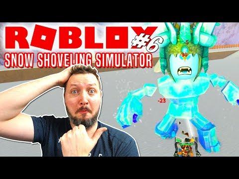 ICE MOUNTAIN OG ICE BOSS😱! - Roblox Snow Shoveling Simulator Dansk Ep 6