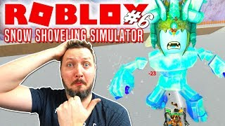 ICE MOUNTAIN OG ICE BOSS😱! - Roblox Snow Shoveling Simulator Dansk Ep 6