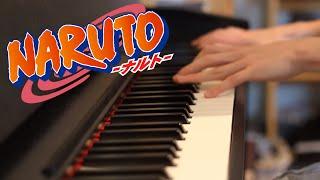 Haruka Kanata - (Naruto Opening 2) - Piano Cover