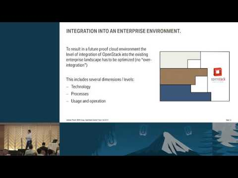 Motoring Ahead: OpenStack in the BMW Group's Enterprise Environment