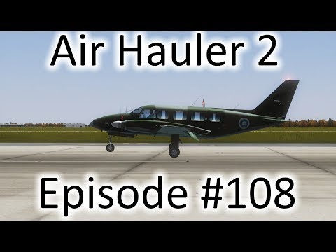 FSX | Air Hauler 2 Ep. #108 - Getting Started On Missions! | PA-31-350