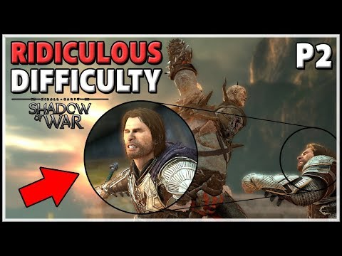 [Shadow of War] TORTURE difficulty Playthrough - WIN a Mithril Edition - Part 2
