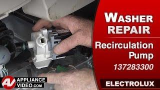Electrolux Washer - Recirculation Pump repair