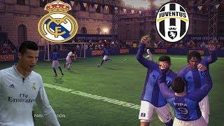 FINAL DE LA CHAMPIONS - REAL MADRID VS JUVENTUS - FUTBOL SALA - FIFA STREET