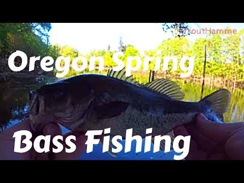 Oregon Spring Bass Fishing