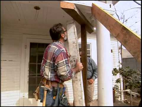 Removing The Porch Columns Youtube