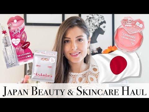 Japan Beauty & Skincare Haul