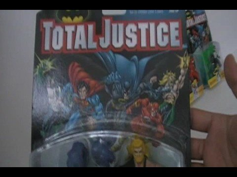 1996 Batman Total Justice (Lot 5) - Aquaman