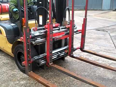 4 prong forklift stir plate wiring diagram double pallet handler attachment avi youtube