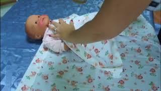 Пеленание. Как пеленать ребенка?