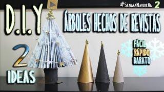 DIY: COMO HACER UN ÁRBOL DE NAVIDAD FÁCIL Y RÁPIDO Thumbnail