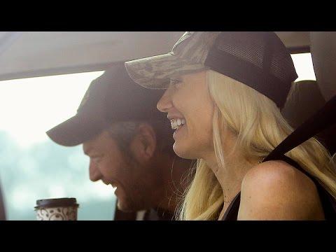 Blake Shelton and Gwen Stefani Can't Stop...
