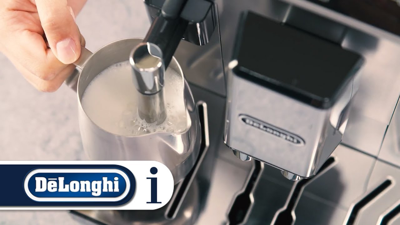 How To Use The Steam Function On Your Delonghi Primadonna Class Ecam 55075ms