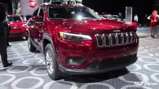 2019 Jeep Cherokee Close-Up Look! 2018 NAIAS