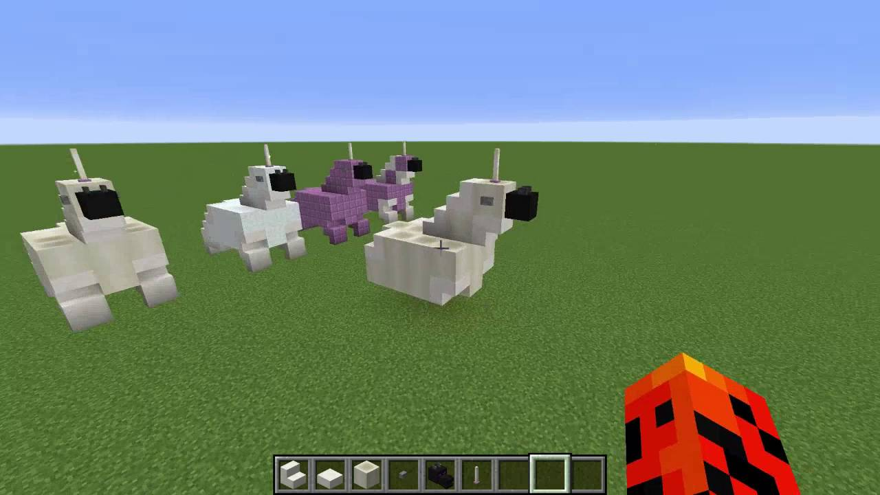 How To Make A Unicorn In Minecraft 1 10! ~ Minecraft #1