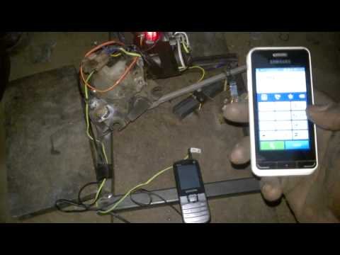 mobile phone controlled gate valve agricultural engineering project topics