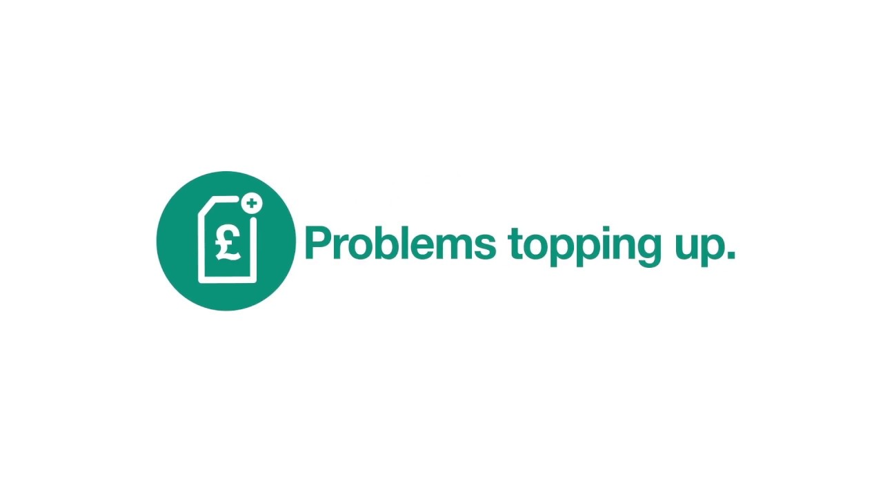 Problems topping up - Support - Three