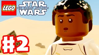 LEGO Star Wars The Force Awakens - Gameplay Part 2 - Chapter 2: Escape from the Finalizer!