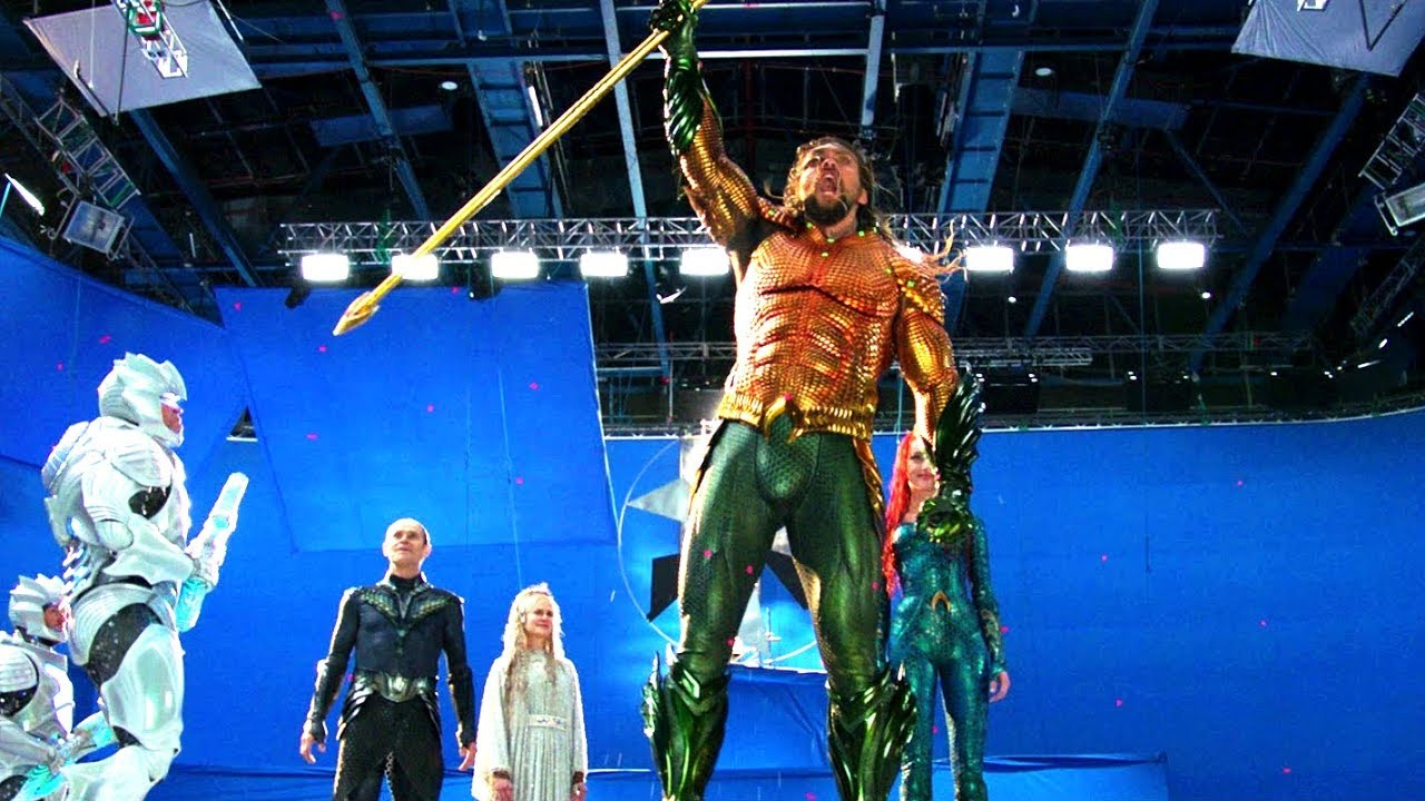 The Making of «AQUAMAN» Behind The Scenes - Storyline: Arthur Curry learns that he is the heir to the underwater kingdom of Atlantis, and must step forward to lead his people and be a hero to the world.