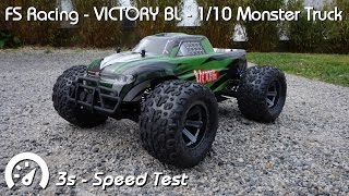 fs racing victory bl 1 10 4wd mt 3s speed test