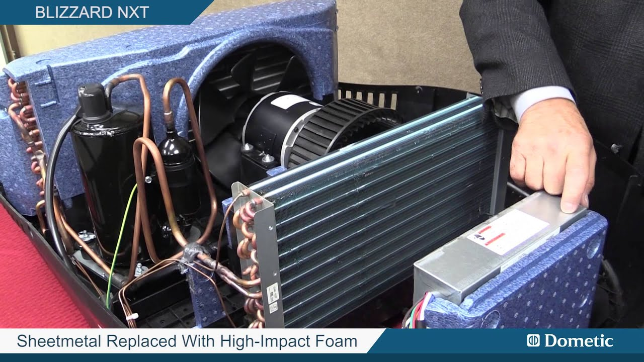Dometic's Blizzard NXT RV Rooftop Air Conditioner  YouTube