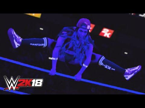 WWE 2K18 entrance mashup: Nikki Bella as Naomi