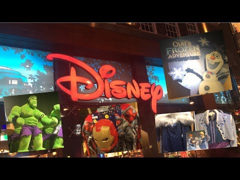 NEW DISNEY STORE TOUR 2018 LOTS OF NEW MERCHANDISE!