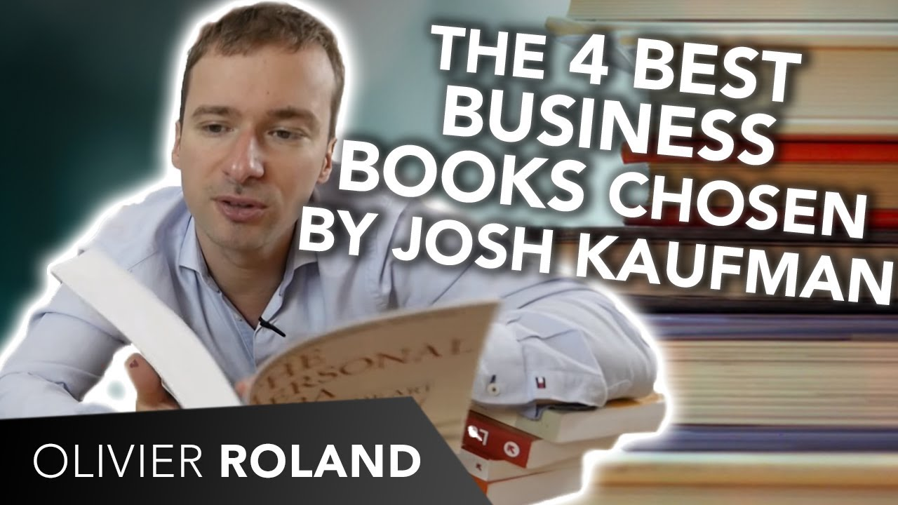 📚 The 4 BEST business books, chosen by Josh Kaufman (author of the  Personal MBA)