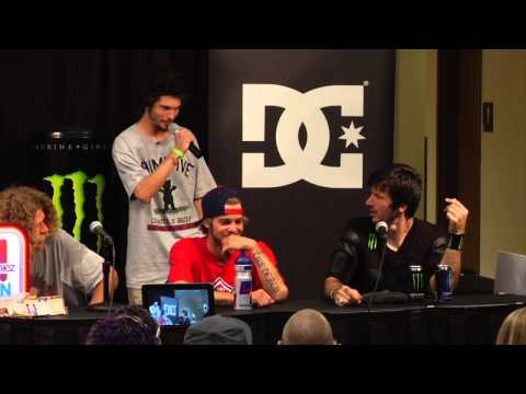 Street League 2012: Best Of - Press Conference Hosted by Torey Pudwill