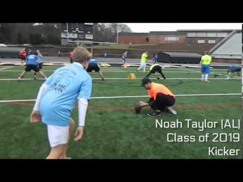 Noah Taylor (AL) | Class of 2019 Kicker