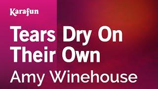 Karaoke Tears Dry On Their Own - Amy Winehouse *