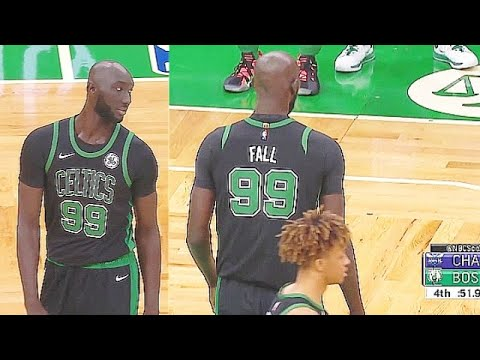 Tacko Fall UNREAL MVP Chants From Celtics Crowd In His Second Game! Celtics vs Hornets
