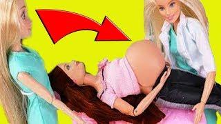 Что произошло с БЕРЕМЕННОЙ МАМОЙ?! Куда ее унесли?! Мультик с куклами