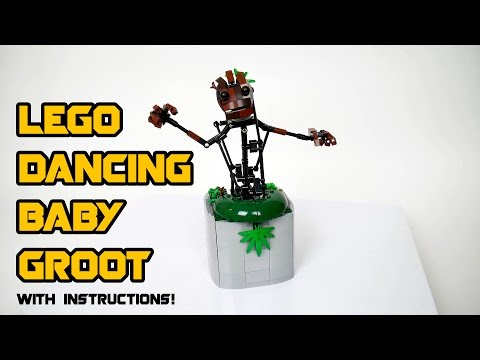 Lego Dancing Baby Groot (with instructions)