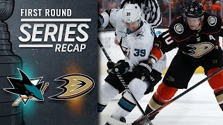 Sharks sweep Ducks to advance to Second Round