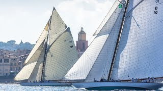 Les Voiles De Saint Tropez 2018 Highlights