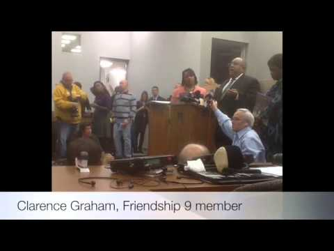 Friendship Nine court hearing - SPiN Coverage