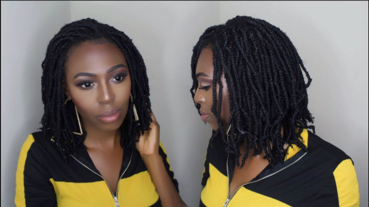 HOW TO INSTALL NUBIAN TWISTS ON NATURAL HAIR