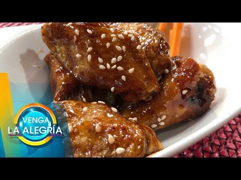 ¡Complace Tu Antojo Preparando Estas Ricas Alitas De Pollo En Salsa De Tamarindo! | Venga La Alegría