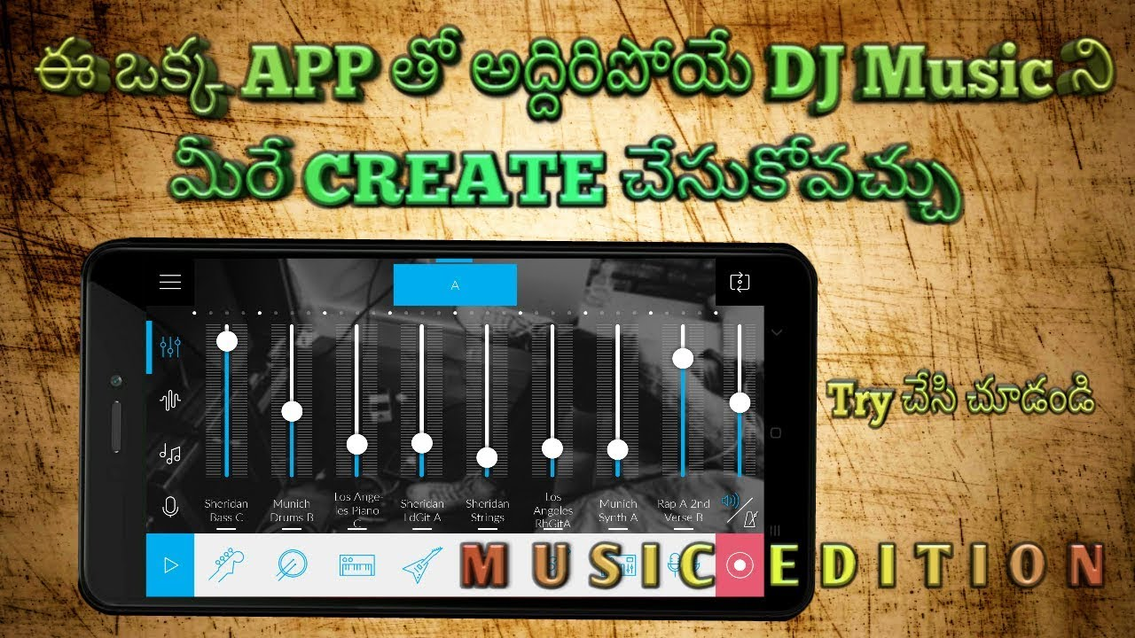 App Dj Music Create
