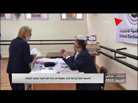 السفيرة فايزة أبو النجا تدلي بصوتها في لجنة كلية التربية الرياضة بالزمالك  - نشر قبل 2 ساعة