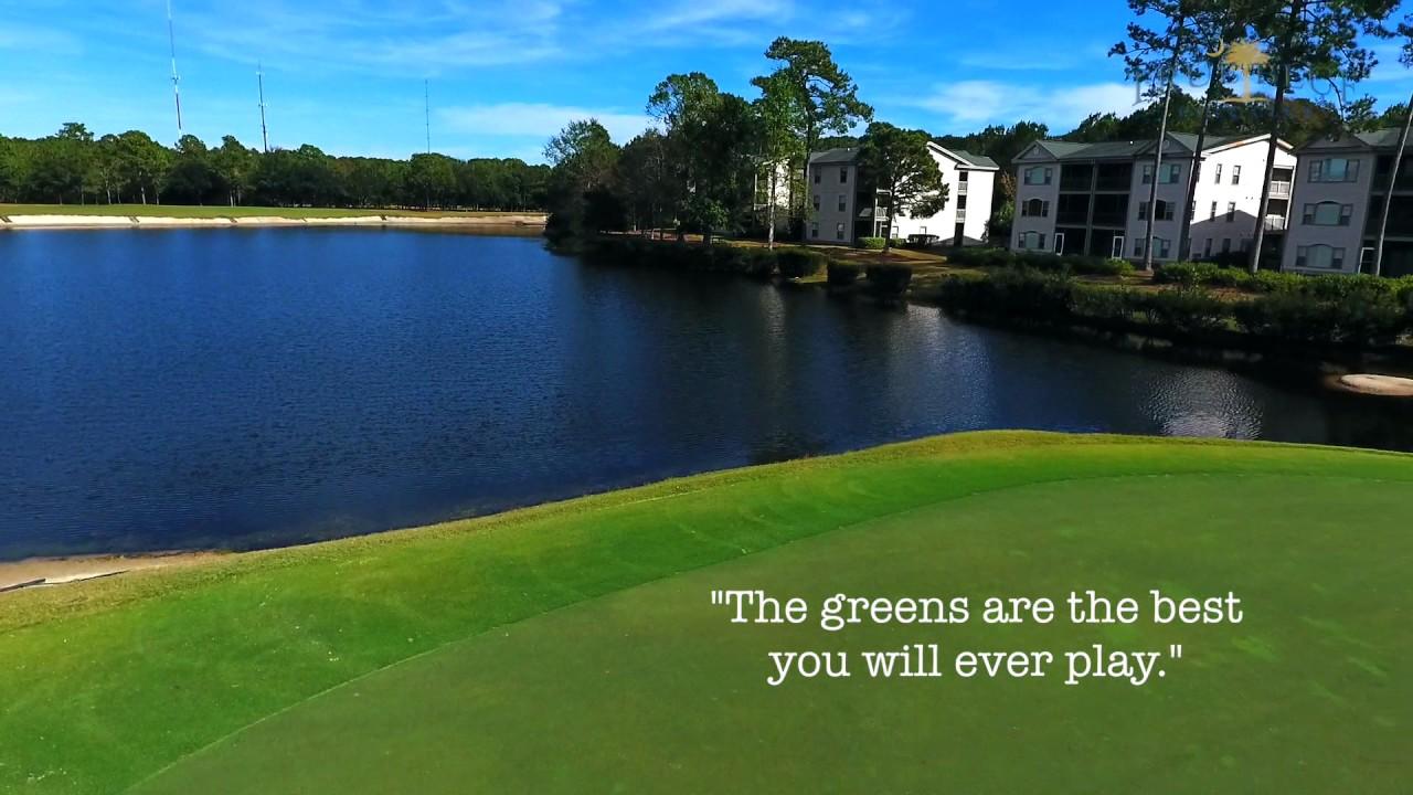 True Blue Golf Club No 4 Hole Spotlight From Myrtle Beach Holiday