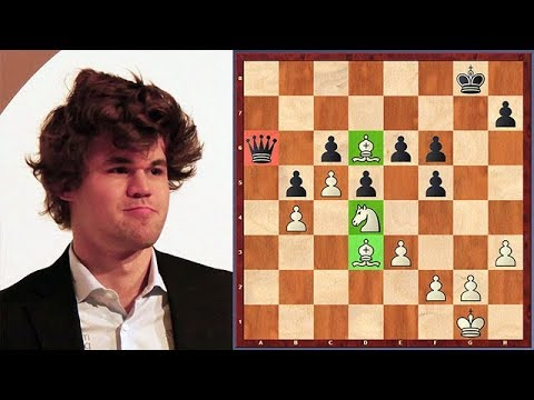 Magnus Carlsen vs. Andrew Tang! Carlsen Is Playing Without A Queen!