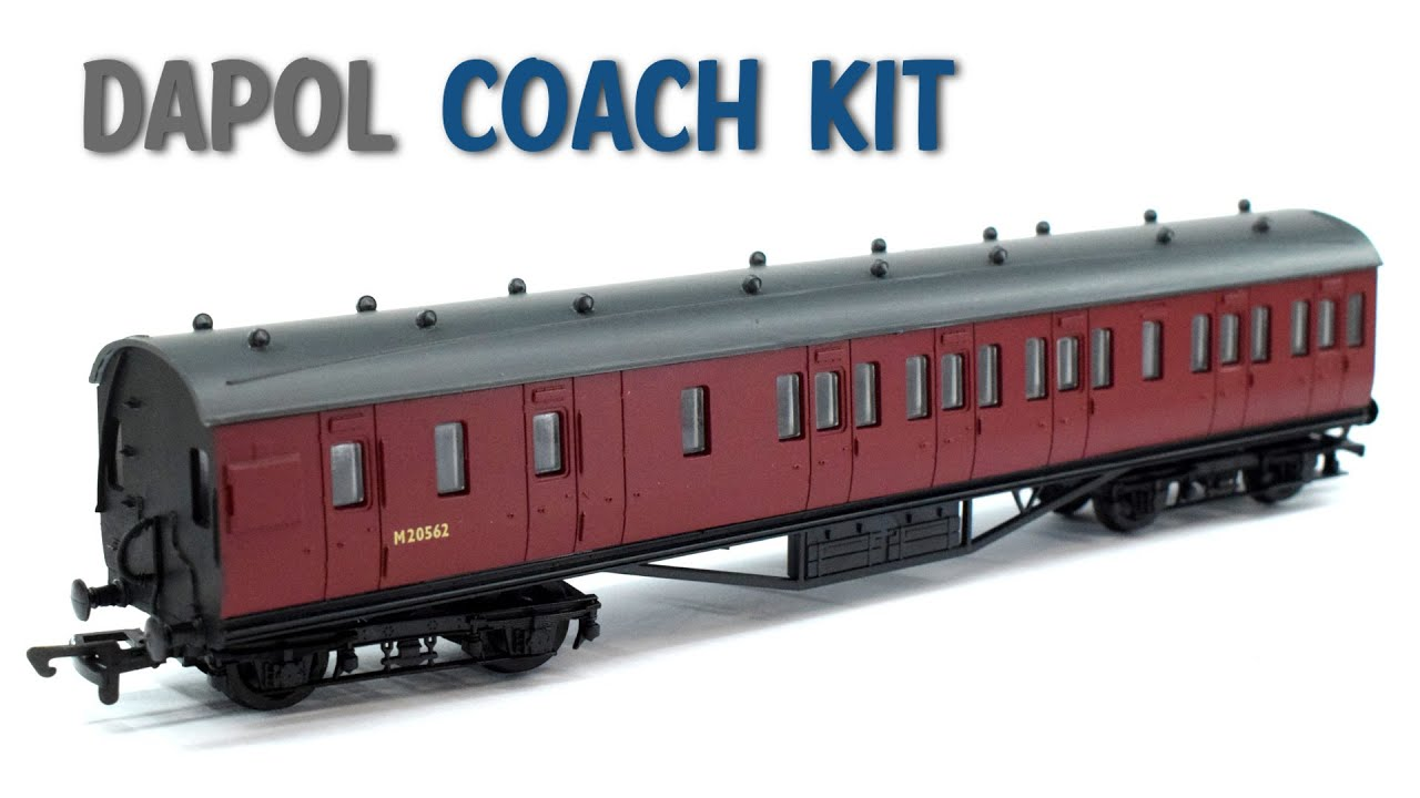 Dapol Stanier 57ft Coach Kit   OO Gauge Model Railway   Build & Review