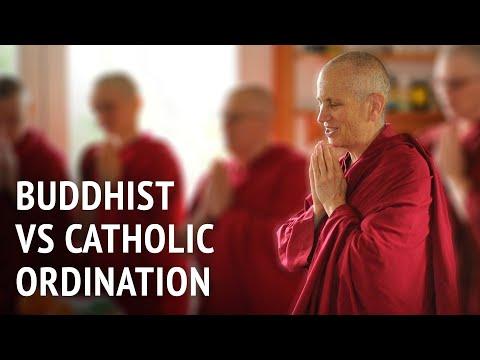 Buddhist vs Catholic ordination