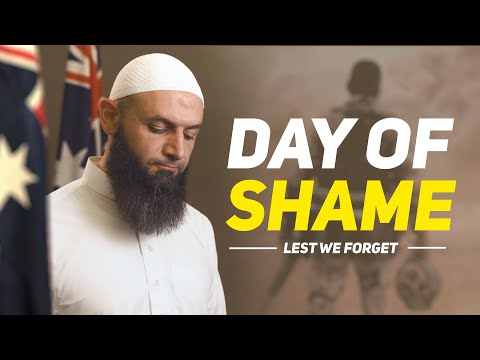 We will NEVER FORGET Australia's day of shame