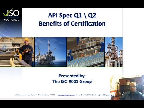 Benefits of API Spec Q1 Q2